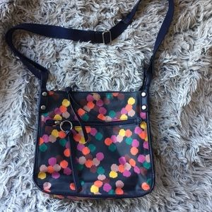 Fossil crossbody In colorful pattern